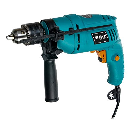 Bort BSM-500-P drill Llave Negro, Azul 3000 RPM 1,7 kg -