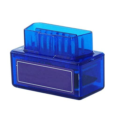 LAANCOO Piezas Auto del Adaptador Bluetooth OBD2 de código de diagnóstico del Coche escáner Lector del Coche Coche de la Herramienta de alimentación Azul Auto