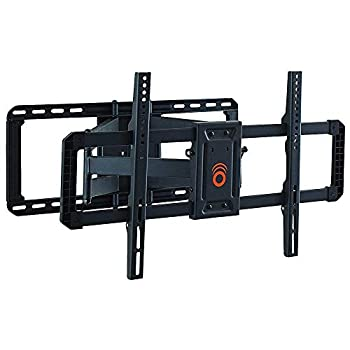 ECHOGEAR Full Motion TV Wall Mount for Big TVs Up to 90  TVs - Smooth Swivel Tilt & Extension - Universal Design Works with Samsung Vizio TCL & More - Includes Drilling Template - EGLF2