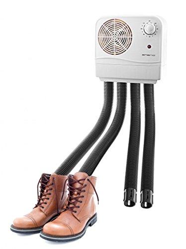 Emerio Schuhtrockner Schuhwärmer für 2 Paar Schuhe Schuh-Heizung für warme Füße