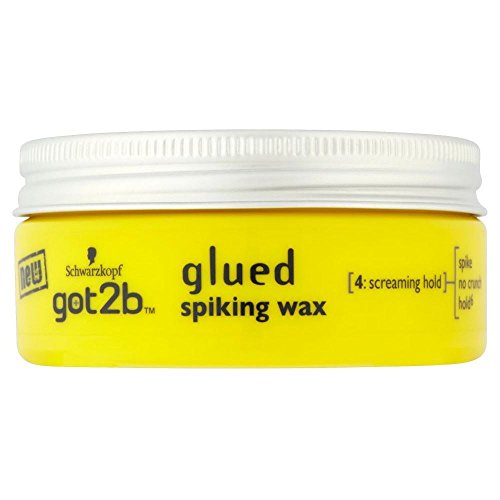 Schwarzkopf Got2b Glued Spiking Wax (75ml) - Pack of 6