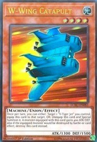 yu-gi-oh W-Wing Catapult - LCKC-EN083 - Ultra Rare - 1st Edition - Legendary Collection Kaiba Mega Pack (1st Edition)
