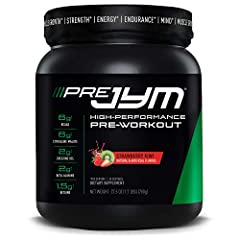 QUALITY INGREDIENTS - Pre JYM preworkout powder contains the best ingredients to optimize your workout. It has BCCAA's and creatine for muscle growth, citrulline malate and caffeine for endurance, plus beta-alanine and betaine for strength. GREAT TAS...