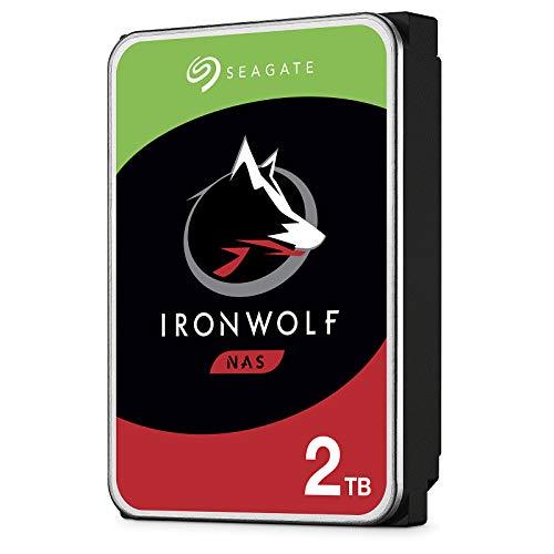 "2 TB Seagate ST2000NE001 IronWolf Pro NAS Hard Drive, 3,5"" HDD, SATA III 6 Gb/s, 7200 rpm, 128 MB Cache 512E, 4,16 ms"