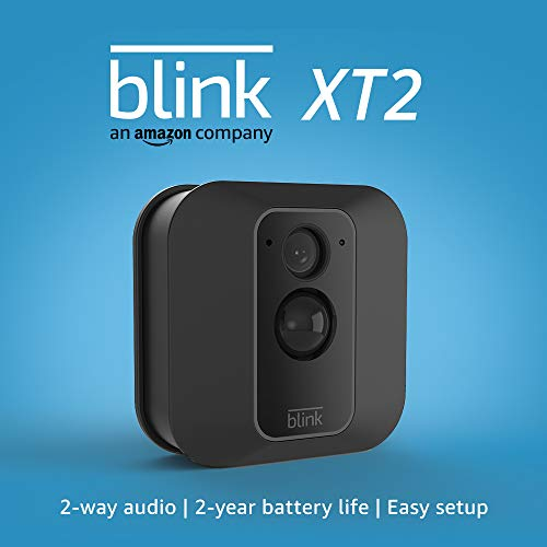 Blink XT2 Outdoor/Indoor Smart Security Camera with cloud storage included, 2-way audio, 2-year battery life – 1 camera kit