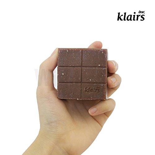 Klairs Manuka Honey&Choco Pastille de savon pour le corps et le visage de Miel