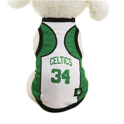 Hond Kleding NBA Basketbal T-Shirt Honden Kostuum Jersey voor Kat Hond Huisdier Lakers
