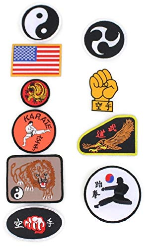 Cobra Kai Pants Patches GI Set of 10 Costume Johnny Lawrence Karate Kid Patch