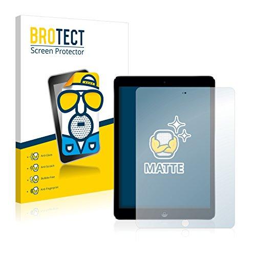 BROTECT Protector Pantalla Anti-Reflejos Compatible con Apple iPad Air (2 Unidades) Pelicula Mate Anti-Huellas