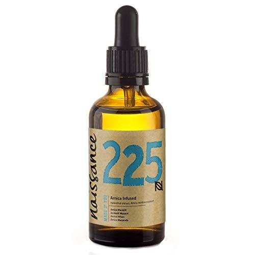 Naissance Aceite Macerado de Árnica 60ml - 100% natural, vegano y no OGM