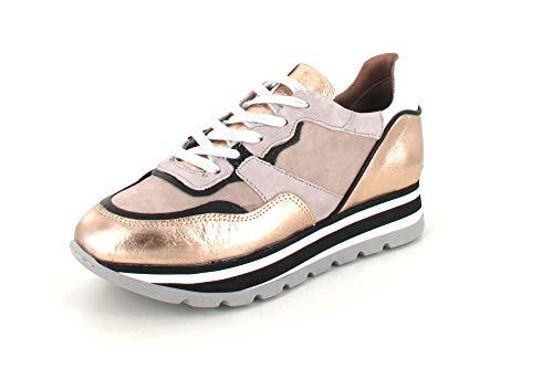 Mjus Damen, Kinder Sneaker Low Carolina Gold 38
