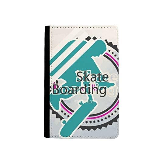 beatChong Deporte De Atletas De La Snowboard Tarjeta Monedero del Caso De La Cubierta Cartera De Viaje Ilustración Titular del Pasaporte