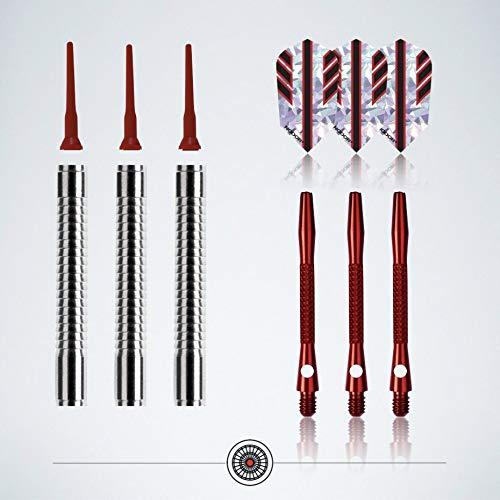 """Profi Soft-Darts Set """"Red Shadow"""" von myDartpfeil - 6"""