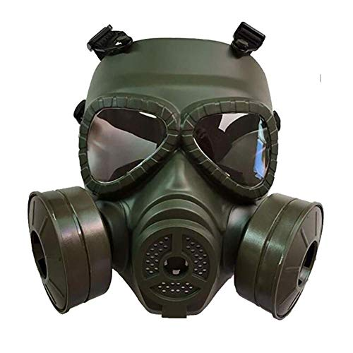 Bulk Anti-contaminación nociva de Vapor Doble Válvulas Breathe Máscara fácil de Usar en el Gas Orgánica El pulverizador de Pintura