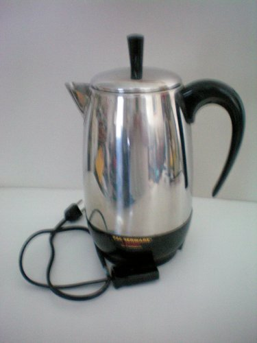 Farberware FCP 280 Superfast Fully Automatic Electric Percolator -- approx. 10