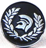 Esmalte de Metal Pin de broche MOD Scooter (negro) Skinhead troyana