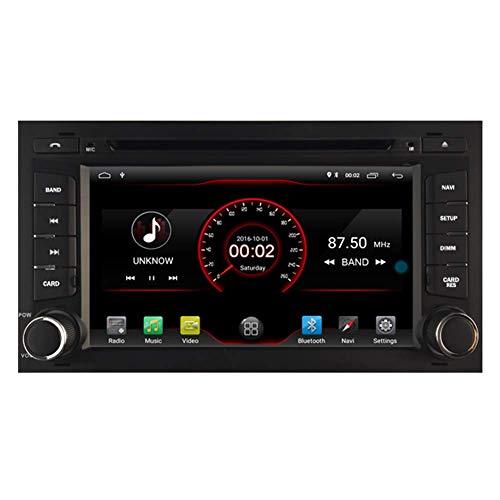 BWHTY Android 10 Car DVD Player GPS Stereo Head Unit Navi Radio Multimedia WiFi para Seat Leon III MK3 2012 2013 2014 2015 2016 2017 Control del Volante