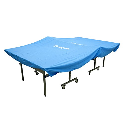 Harvil Heavy-Duty Indoor Table Tennis Table Cover with Elastic Hems