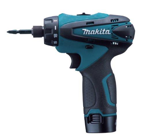 マキタ(Makita)充電式ドライバドリル10.8V1.3Ahバッテリー2個付きDF030DWX
