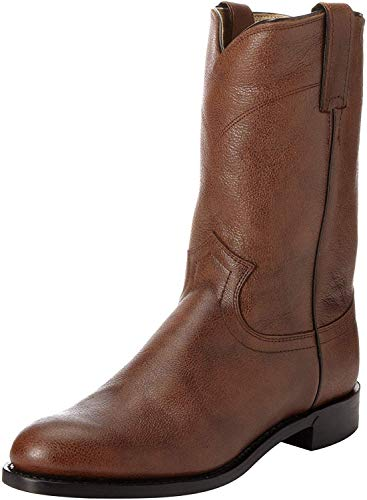 Justin Boots Men's Ropers Equestrian Boot brown Size: 9.5 Wide