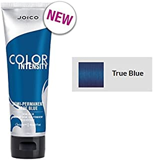 Joico Color Intensity Semi-Permanent Creme Hair Color (with Sleek Tint-Brush) (True Blue)