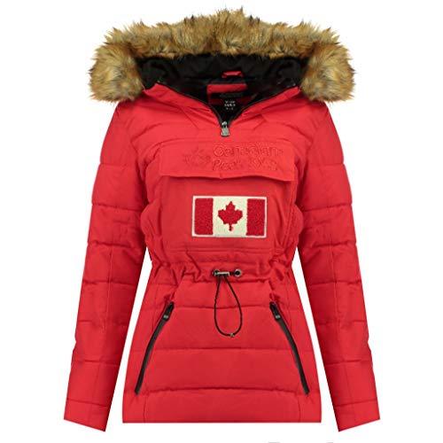 Canadian Peak Chaqueta Mujer BUNATEAK Rojo 01