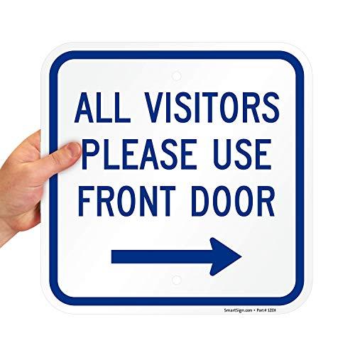 10 best visitor entrance sign for 2021