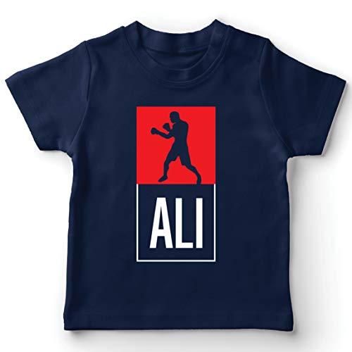 lepni.me Camiseta para Niños Equipo de Entrenamiento Combate De Boxeo Ropa de Ejercicio y Fitness (14-15 Years Azul Oscuro Multicolor)