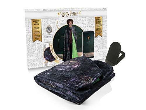 Dickie Toys Capa de camuflaje de Harry Potter para hacer invisible con aplicación, capa mágica, las Reliquias de la Muerte, disfraz de Harry Potter