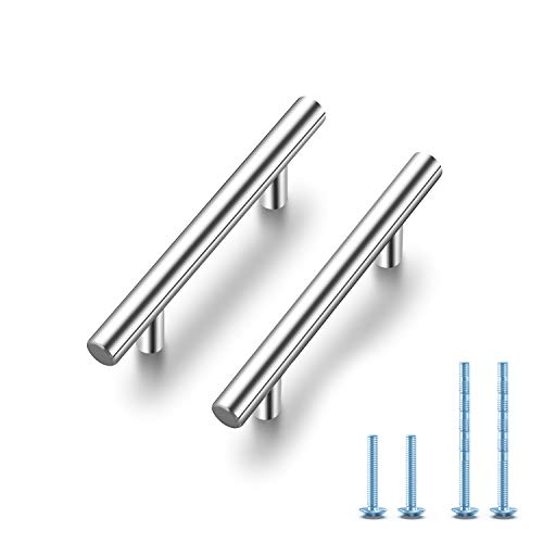 Ravinte 30 Pack 5'' Cabinet Pulls Brushed Nickel Stainless Steel Kitchen Drawer Pulls Cabinet Handles 3