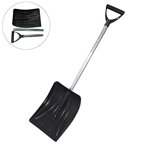 New MUYIER Snow Shovel, Detachable Extended Version of Snow Shovel - Lightweight Durable and Portabl...