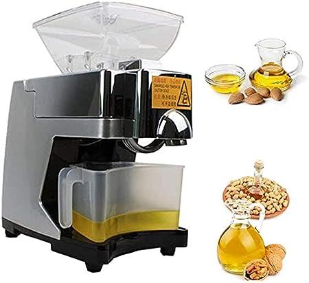 EWYI Máquina automática de la Prensa de Aceite MÁQUINA DE Cocina Semillas de la Tuerca LINESEDS Exponente de Aceite Extractor de presión de Aceite para el Cacahuete de li 110V