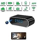 Spy hidden HD real-time camera clock WiFi wireless network cloud storage camera,