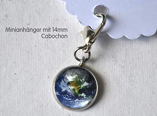 Minianhänger Minicharm Weltkugel Erde Globus