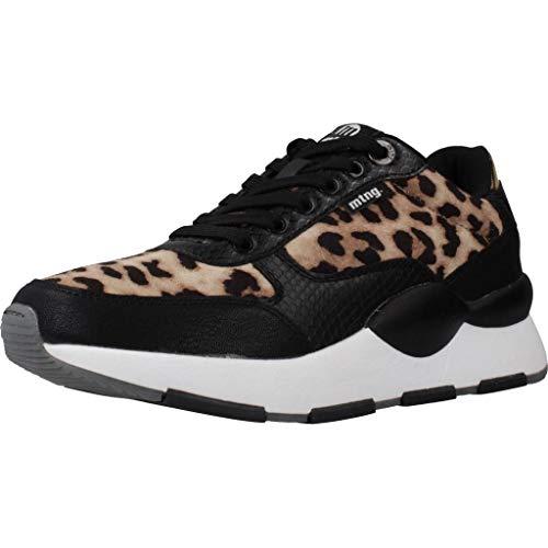 MTNG Attitude 69867, Zapatillas para Mujer, Negro (Lea Taupe/Negro C47434), 41 EU