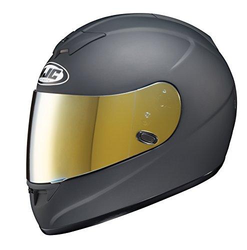 HJC Helmets HJ-09 RST Mirror Gold Shield For AC-12, CL-15, CL-16,CL-17,CL-SP,CS-R1,CS-R2,FS-10, FS-15, IS-16, FG-15