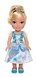 """Cinderella is approximately 14"""" tall Cinderella's dress is inspired by her story Includes Doll and removable Dress, Shoes and Tiara Recommended for ages 3+"""