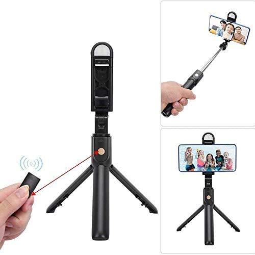 Selfie Stick-Statief, Uitschuifbare Statiefstandaard Met Universele Telefoonpadclip, Opnemen Op Afstand, Telefoonstatief Voor Video-Opnamen, Vlog, Selfie