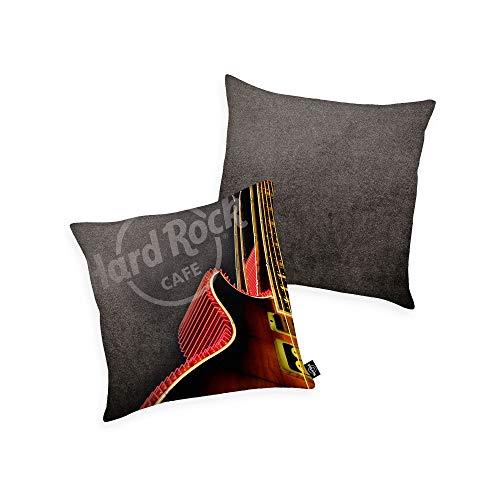 Hard Rock Cafe Kissen 40x40cm grau