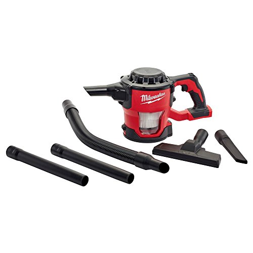 Milwaukee M18 18-Volt Lithium-Ion Compact Vacuum Bare Tool (Tool-Only)   Hardware Power Tools for Your Carpentry Workshop Machine Shop Construction or Jobsite Needs