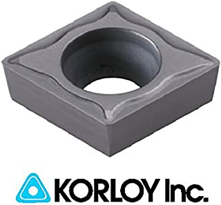 Korloy VBGT 221-AK H01 110304 Indexable Carbide Inserts 10pc