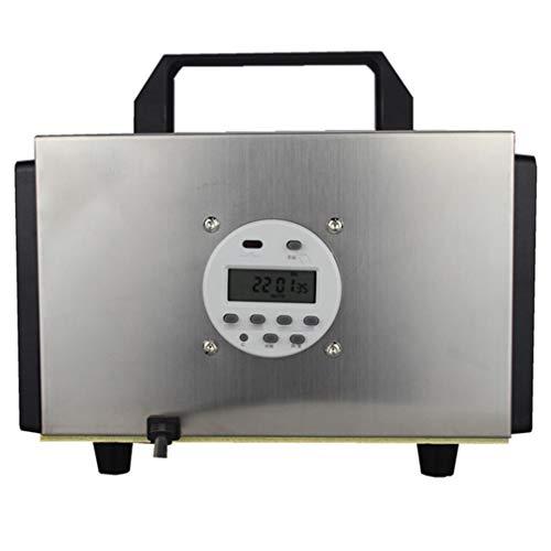 QMHG - Depurador de filtro de aire (10.000 MG/h), temporizador ajustable, ambientador y purificador de aire, esterilizador para su coche, dormitorio, desinfección de cocina, reducción de formaldehído