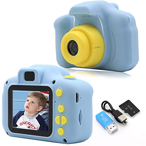Rindol Toys for 4-9 Year Old Boys,Kids Camera Compact for Child Little Hands, Smooth Shape Toddler Camera,Best Birthday Gifts for 4 5 6 7 8 9 Year Old Boys …