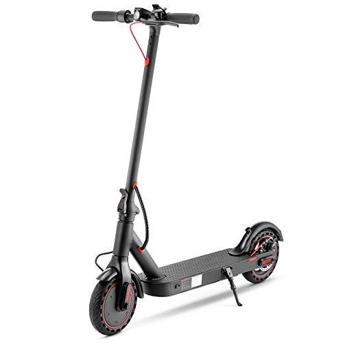 Festnight Elektroroller 8,5 Zoll Zweirad klappbarer 350W Smart Scooter mit APP-Steuerung 7,5 Ah 18-23 km Reichweite für Wochenendausflüge in die Stadt