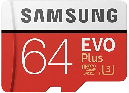 Professional EVO Plus microSDXC Memory Card 64GB Verified for Amazon Fire 7 Kids Edition Tablet MicroSDXC Card with Custom Hi-Speed Includes Standard SD Adapter. (4K Class 10 Certified 100MB/s)