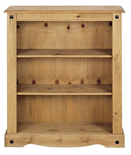 Birlea Furniture Corona Bücherregal, Kiefernholz, 1 Schublade