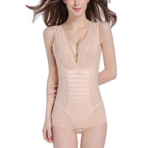 Guiran Mujer Body Faja Modeladora Reductora Adelgazantes Bodysuit De Cintura Shapewear Desnudo L