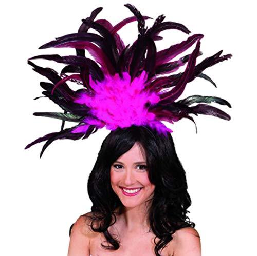 Carnival Headdress Pink