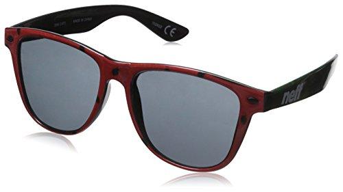 Neff Sonnenbrille Daily Sun Unisex Sonnenbrille, - rot - Größe: Einheitsgröße