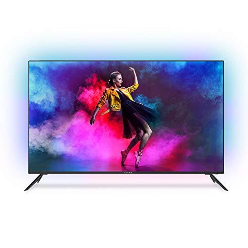 "Kiano Elegance TV 32"" Pulgadas Android TV 9.0 [80 cm Sin Marco TV 8GB] (Televisión HD, Smart-TV, Netfilx, Youtube, Facebook) AV Triple Tuner DVB-T2 T/C/S/S2, Ci, PVR, WiFi Direct, Energética A miniatura"